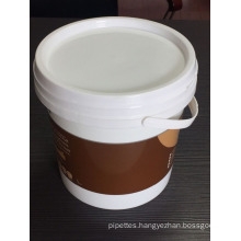 1L 1.7L China supplies cleaning tools PP Material plastic buckets drum pails barrel for sale