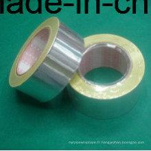 Ruban en feuille d'aluminium avec doublure de papier à libération facile