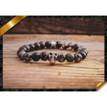 Bracelet à breloques de mode en gros, Bracelet en pierres précieuses en agate (CB033)