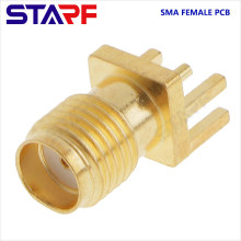 STA 1.6mm 1.2mm SMA Female End Luanch PCB Mount connector