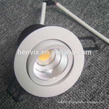 cob 10W dimmable led downlights square