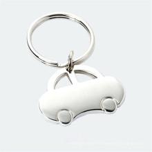 Hot Sale forme de voiture Simple Metal Car Key Chain (F1099)