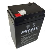 PK-640 6V 4Ah VRLA batería de plomo libre de mantenimiento
