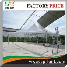 Outdoor Diagonal 8m Clear Dach Dach Aluminium Rahmen PVC Stoff Hexagon Zelt Pagode Zelt