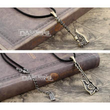 Alloy Sweater Chain Women Pendant Necklace Vintage Distortion Free