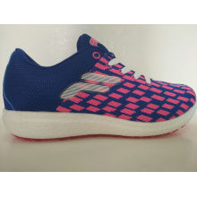 Ladies Leisure Plaid Print Knitting Footwear