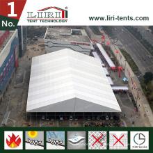 Großes Zelt mit klaren PVC-Fenstern für Verkäufe