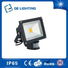 Certificado calidad 20W luz de inundación del LED con Sensor