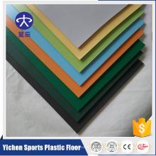Piso comercial profesional no-direccional del vinilo del PVC del rollo del PVC de la oficina
