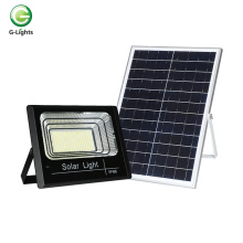 Portable remote control waterproof ip66 solar flood lamp