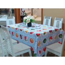 Nappe aux fruits, housse de table