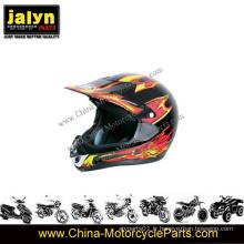 Le casque de motocyclette Half-Face ATV approuvé par le DOT s'adapte aux adultes