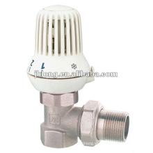 J3003 válvula de radiador de ángulo de latón en China