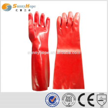 Sunnyhope red waterproof winter work gloves
