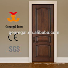 Varnished 100% solid wood bedroom doors