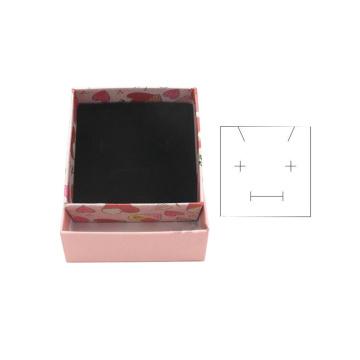 Matt Laminated Custom Pendant Jewelry Packaging Boxes