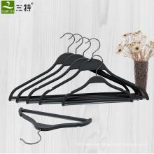 Colgador de camisa de plástico negro plano Zara para exhibición