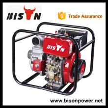 """BISON CHINE Taizhou Big Displacement 4 """"Types de pompe à moteur diesel"""