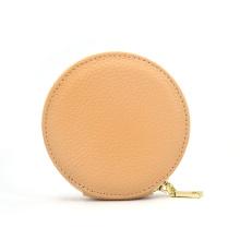 Portefeuille en cuir de couleur kaki portable sac à main