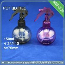 500ml garrafa de plástico PET garrafa plástica de spray de água frasco de spray de névoa com bomba