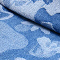 Woven Cotton Spandex jacquard Denim Fabric for Jeans