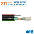 Cable de fibra óptica monomodo de 96 núcleos de antena / subterráneo GYTC8Y53 / GYTC8A para comerciantes de Albania