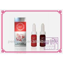 Solução permanente de tatuagem cosmética tinta de maquiagem permanente com mais de 22 cores - 12 ml de garrafas de líquido