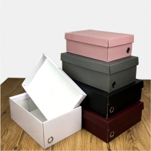 100% Original for China Corrugated Paper Box,Black Paper Box,Apparel Paper Box Supplier 4C Custom Paper Corrugated Shoe Box with Lids supply to India Wholesale