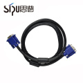 SIPU meilleur perfermance HD 1 mètre ordinateur vga 15 broches mâle à mâle câble 3 + 6 câble vga