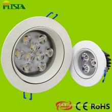 Mejor LED accesorios de iluminación/LED luz de techo en 7W (ST-CLS-B01-7W)