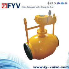 API6d Fully Welded Pipeline Ball Valves