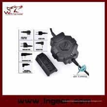 Airsoft táctico Ztac estilo Wireless Ptt Z123 equipamentos de comunicação