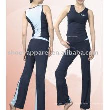 Venda quente mais roupas de yoga tamanho 2014