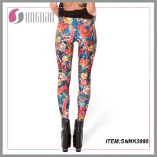 2015new Personnaliser Leggings Leggings imprimés personnalisés Pantalons femme