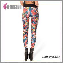2015new Personalizar Leggings Custom Print Leggings Mulheres Calças