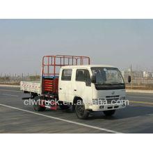 Dongfeng FRK caminhão plataforma móvel, 11-12m caminhão operação de alta altitude no Peru