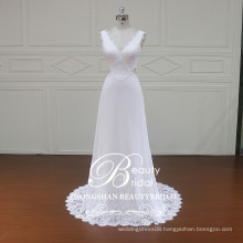 XF16117 high quality chiffon wedding dress elegant boho styles of wedding gowns for women