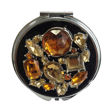 Luxe Jeweled miroirs