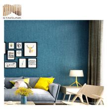 papier peint pvc de haute qualité de paillettes de luxe pour la décoration murale