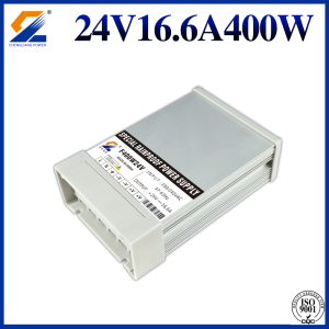 24V 16.7A 400W AC DC Rainproof Power Supply