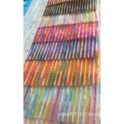Camouflage Stripe Polyester Mesh Fabric for Garment