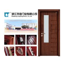 Puerta interior de madera para Toliet (LTS-205)