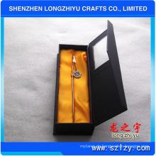 Metall-Lesezeichen mit Geschenk-Box und benutzerdefinierte Logo Enamel Silber Souvenir Geschenk
