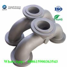 Coude en fonte de ponçage en aluminium personnalisé