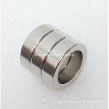 Ímã de NdFeB do anel de N45sh com propriedade elevada