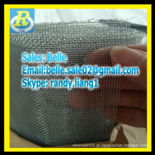 GI tela de janela galvanizada / tela de ferro anti inseto e mosquito
