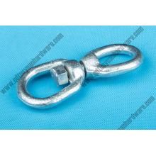 Pivots réguliers en acier forgé G402 de haute qualité