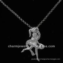 Hot venda anjo jóias de prata esterlina 925 pavimentar pingente cz PSS-004