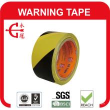 Fita de marcação de piso de PVC para aviso