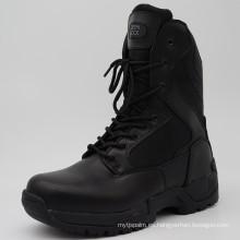 2016hot Sell Negro Policía Botas de Combate Botas de Ejército Tactical
